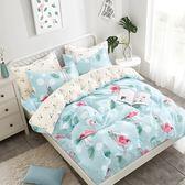 PureOne 韓風烈鳥-雙人極致純棉三件式床包組
