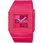 BABY-G BGA-200簡約時尚系列女錶-桃紅(BGA-200-4E)