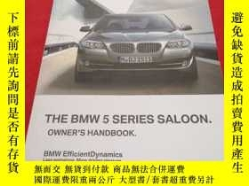 二手書博民逛書店THE罕見BMW 5 SERIES SALOON.OWNER S