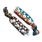 韓版珍珠打結高彈力髮繩(1入) 款式可選...