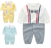 長袖嬰兒兔裝 純棉連身裝 寶寶童裝 LW4478 好娃娃