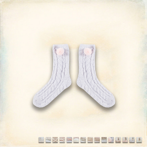 Melek 襪子類 (共15色)【A01161117-0301~0315】女襪舒眠款  厚襪/保暖襪/襪子