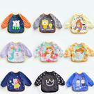 防水圍兜 嬰兒罩衣反穿衣 雙按扣 獨角獸星座  B7F038 AIB小舖