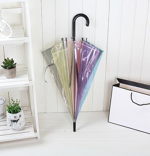 創意日系風森系透明雨傘