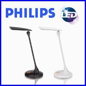 【歐風家電館】PHILIPS 飛利浦 穎光 LED 檯燈 (黑色) 30671