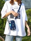 手機包女斜挎小包包新款2019夏天裝手機袋便攜迷你掛脖放零錢包豎