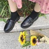 娃娃鞋 2019新款樂福鞋女秋季平底小皮鞋英倫風女鞋子學院風復古娃娃單鞋 2色35-39