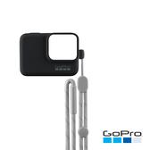 GoPro-HERO5/6/7Black專用矽膠護套+繫繩 黑色(ACSST-001)