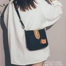手機包 可愛小包包女2021新款潮古著感斜背帆布包文藝復古少女斜背手機包 夏季狂歡