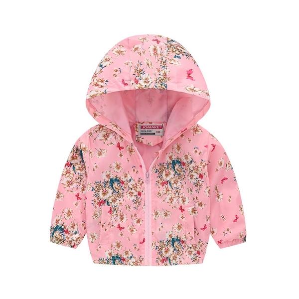 兒童外套 薄長袖連帽外套防曬外套 薄外套 21春款 多花色春外套 88644