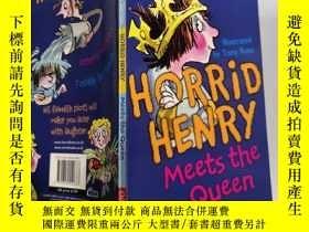 二手書博民逛書店Horrid罕見Henry Meets the Queen: 可怕的亨利遇見了女王Y200392