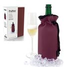 【西班牙Pulltex普德斯】香檳束口保冷袋 / 酒紅色