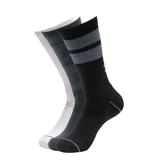 【UA Under Armour】男士UA Phenom Novelty Crew襪—多色3雙裝 1329353-073