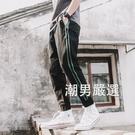 束腳褲新品棉麻褲子男潮流哈倫褲青少年束腳褲百搭九分休閒褲M-3XL