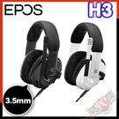 [ PCPARTY ] EPOS H3 封閉式電競耳機 瑪瑙黑 幽靈白