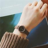 時尚潮流簡約森女款手錶正韓女學生復古小巧迷你皮帶HPXW