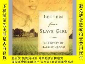 二手書博民逛書店Letters罕見from a Slave GirlY362136 Mary E. Lyons Mar...