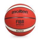 Molten #7橡膠深溝 12片貼籃球(7號球 附球針 球網袋≡體院≡