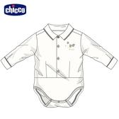 chicco 滑板汪汪襯衫式有領連身衣