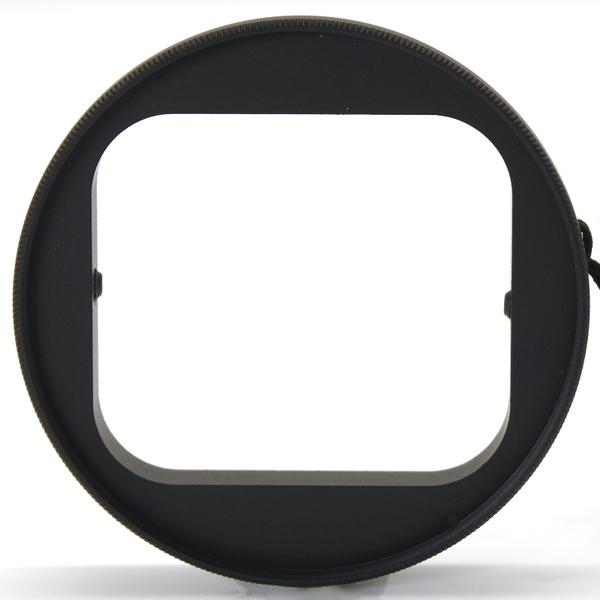 又敗家@Green.L副廠GoPro運動錄影機轉58mm保護鏡轉接環AR-2含潛水殼Hero3 Hero4 Hero+ Hero3+黑版LCD銀版