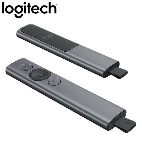 Logitech 羅技 Spotlight 簡報遙控器 質感灰【送五月花衛生紙一串】
