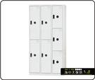 {{ 海中天休閒傢俱廣場 }} F-99 摩登時尚 DF 多功能置物櫃系列 DF-BL5403 七人用置物櫃(鋼製門片)