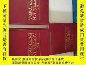 二手書博民逛書店the罕見australian encyclopaedia volume four、six、seven(3本合售)