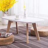 茶几  北歐飄窗桌子小茶幾榻榻米茶幾簡約日式窗台地台桌矮桌飄窗小桌子Igo   coco衣巷