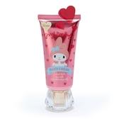 小禮堂 美樂蒂 條狀保濕護手霜 香氛護手霜 護手乳 乳液 玫瑰香 (桃 寶石蓋) 4550337-91144