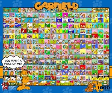 【KANGA GAMES】拼圖 加菲貓 - 漫畫 Garfield - Comic Strip 1000片