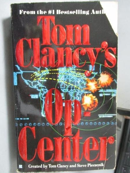 【書寶二手書T9/原文小說_ORE】Tom Clancy s Op-Center