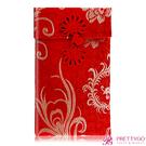 O'Pretty 歐沛媞 緞面刺繡大紅包袋/收納袋-金鳳(10.5cmX17.5cm)【美麗購】