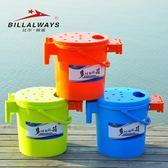 釣魚桶 多功能釣魚桶加厚可坐釣魚水桶釣箱釣凳釣椅釣桶魚護桶mks  瑪麗蘇