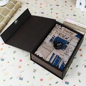 密碼本復古學生歐式彩頁創意帶鎖厚記事本盒裝多功能195頁虧本賣【全館免運】