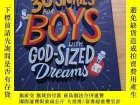 二手書博民逛書店30罕見Stories for Boys with God-sized DreamsY284058 J.R.R