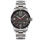 【僾瑪精品】MIDO 美度 MULTIFORT 先鋒系列 機械腕錶-銀x黑/M0254071106100