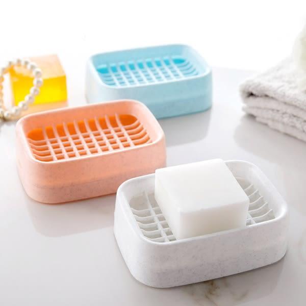【TT】雙層瀝水肥皂盒創意浴室衛生間手工皂架洗臉香皂盒塑料皂托