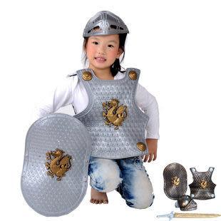 龍騎士裝備戰甲鎧甲勇士4件套522g