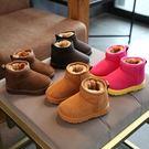 2017新款兒童雪靴冬季防水防滑加絨靴子