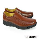 【CR CERINI】舒適透氣休閒樂福鞋 深咖(81202-DBR)
