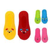 WHY AND 1/2 普普熊吸濕排汗踝襪 多色可選