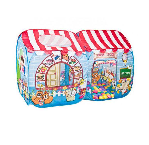 親親 商店屋帳篷+100顆球(6cm) 彩盒裝