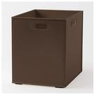 收納盒 N INBOX (W) 窄高型 直式半格型 DBR NITORI宜得利家居