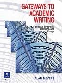 二手書《Gateways to Academic Writing: Effective Sentences, Paragraphs, and Essays》 R2Y ISBN:0131408887