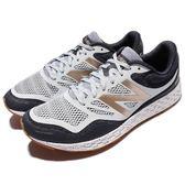 New Balance 慢跑鞋 MTGOBIWB 2E 白 藍 金 緩震設計 膠底 運動鞋 男鞋【PUMP306】 MTGOBIWB2E
