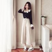 中大尺碼 套裝女秋裝新款雪紡兩件套秋精神時尚可愛 FR629『夢幻家居』