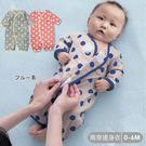 *圓點空氣棉連身衣 純棉 可兩穿 新生兒服 保暖透氣 連身衣 寶寶衣 嬰兒用品60.70碼【GD0139】