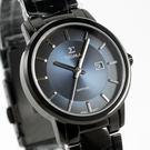 【萬年鐘錶】日系SIGMA經典 女錶  黑x藍色  30mm 1122L-B3