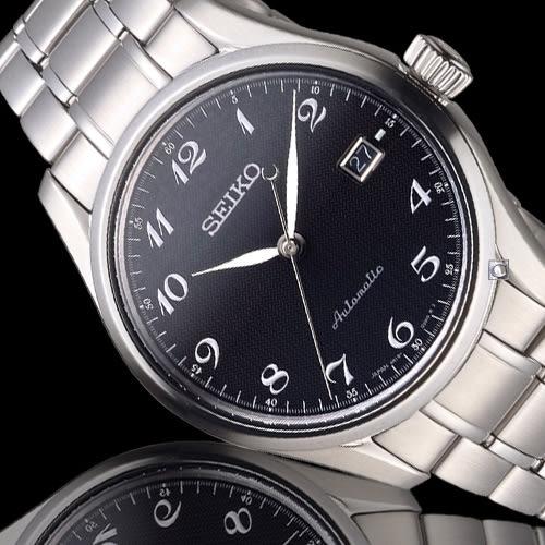 SEIKO 精工 PRESAGE 6R15領航者機械腕錶 6R15-03N0D 黑 SPB037J1