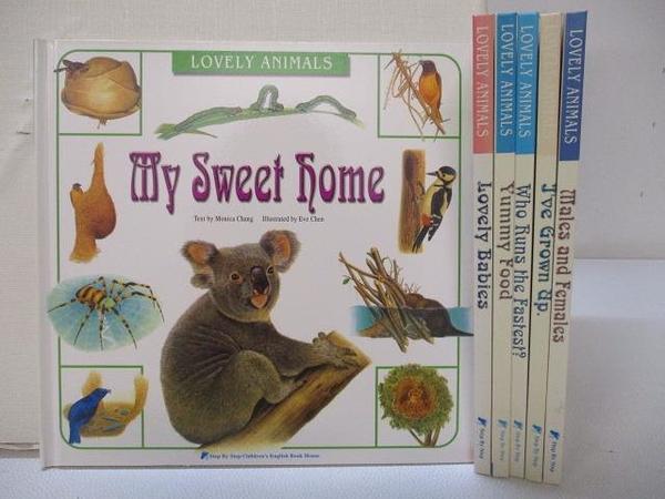 【書寶二手書T1/少年童書_HL5】Lovely Animals-Lovely Babies_Yummy Food等_6本合售